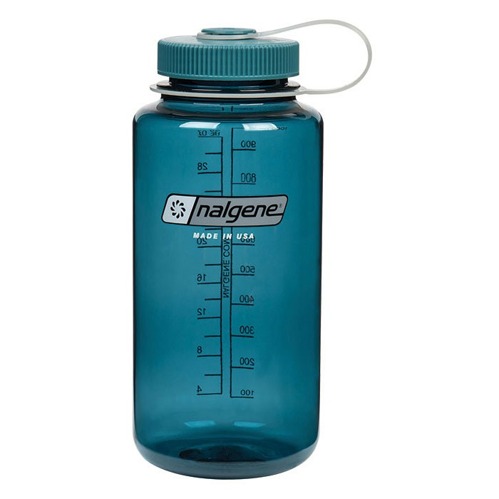Nalgene 32oz Tritan Wide Mouth Bottle Blue