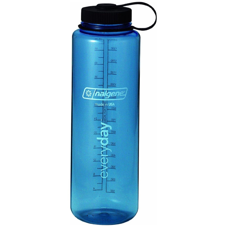 Nalgene Tritan Silo 48oz Wide Mouth Hiker Bottle Blue