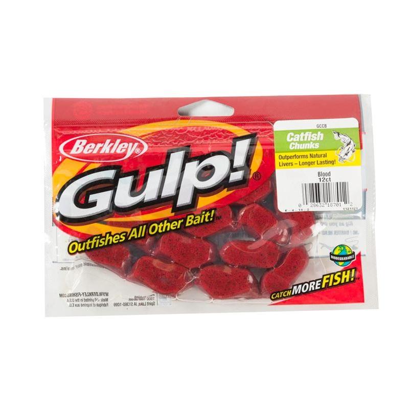 Gulp Catfish Dough Bloody Bloody