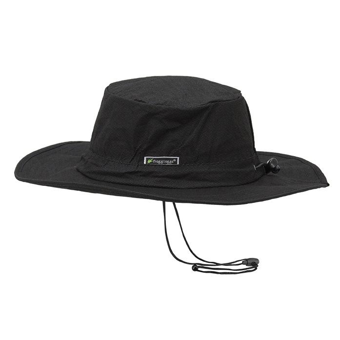 Frogg Toggs Waterproof Boonie Hat Black  FTH103-01 647484701681  89999d63ffe