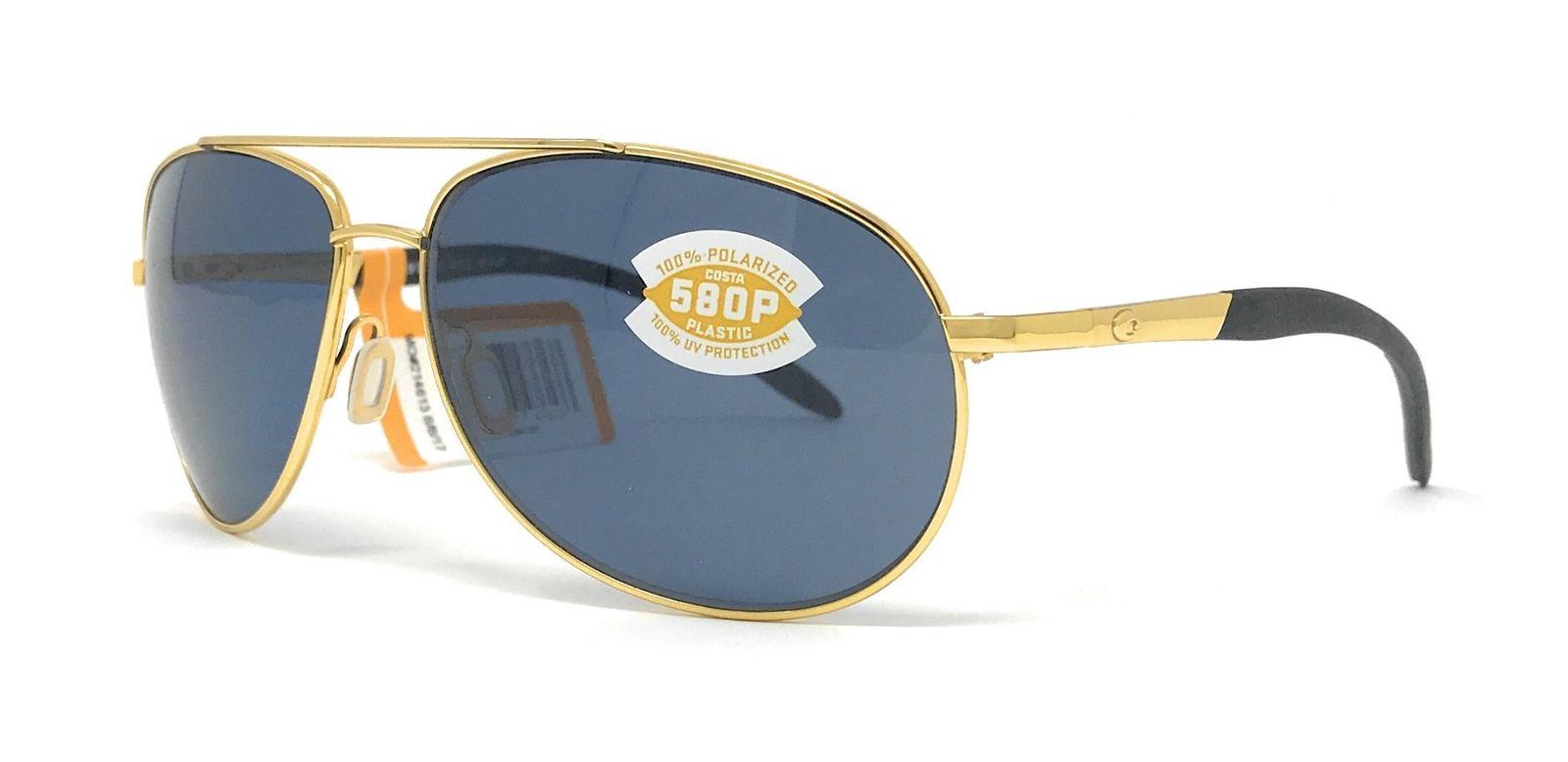 1fbd7d6c00 Costa Del Mar Wingman Sunglasses - Gold   Gray 580P WM26OGP ...